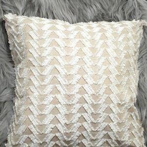 Lush Fringe Accent Pillow